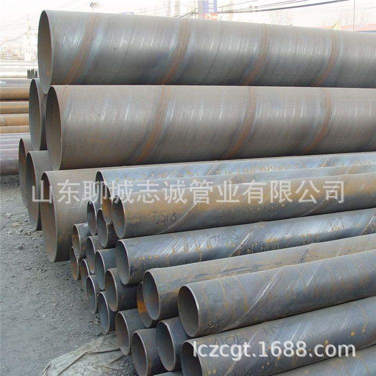 农业灌溉给水排水输泥螺旋管 大口径螺旋焊管 Q345材质螺旋钢管