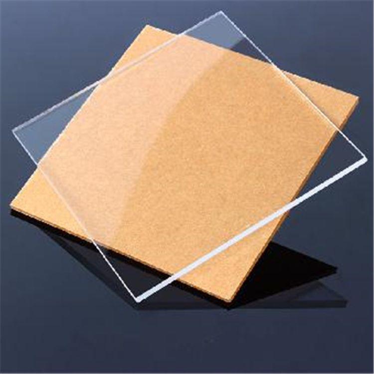 透明亚克力板材 有机玻璃板 PMMA透明有机玻璃板