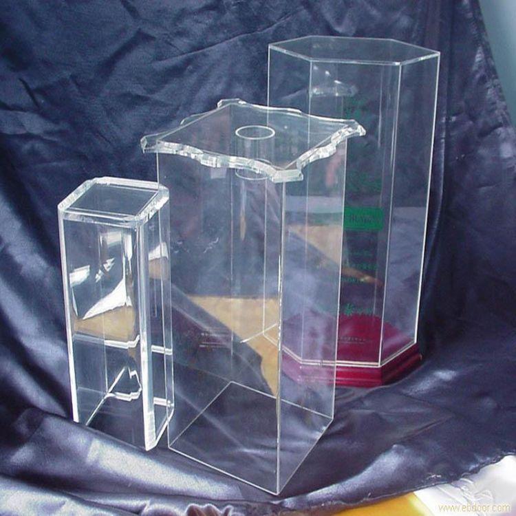 厂家专业定制亚克力高档酒盒亚克力有机玻璃高透明酒盒子