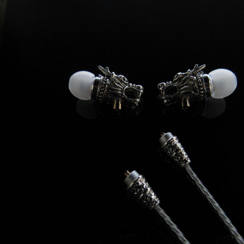 龙头分离藏银做旧金属耳机hifi