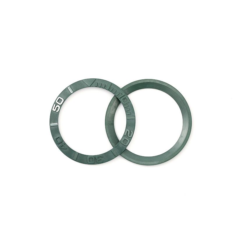 手表配件厂家直销陶瓷表圈外直径38mm 内直径30.7mm 厚度1.65mm