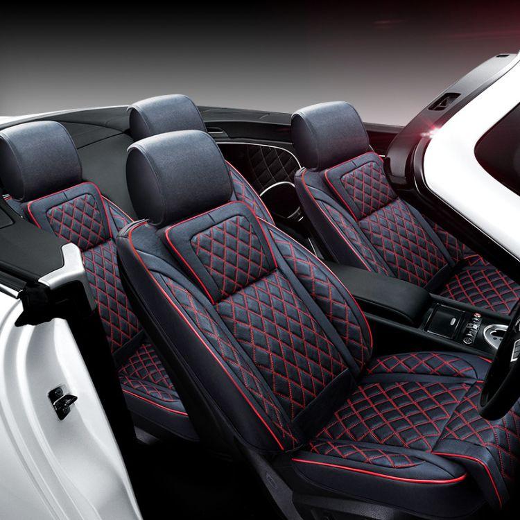 厂家直销汽车座套坐垫全包围专车专用四季通用皮革座椅套春季座套