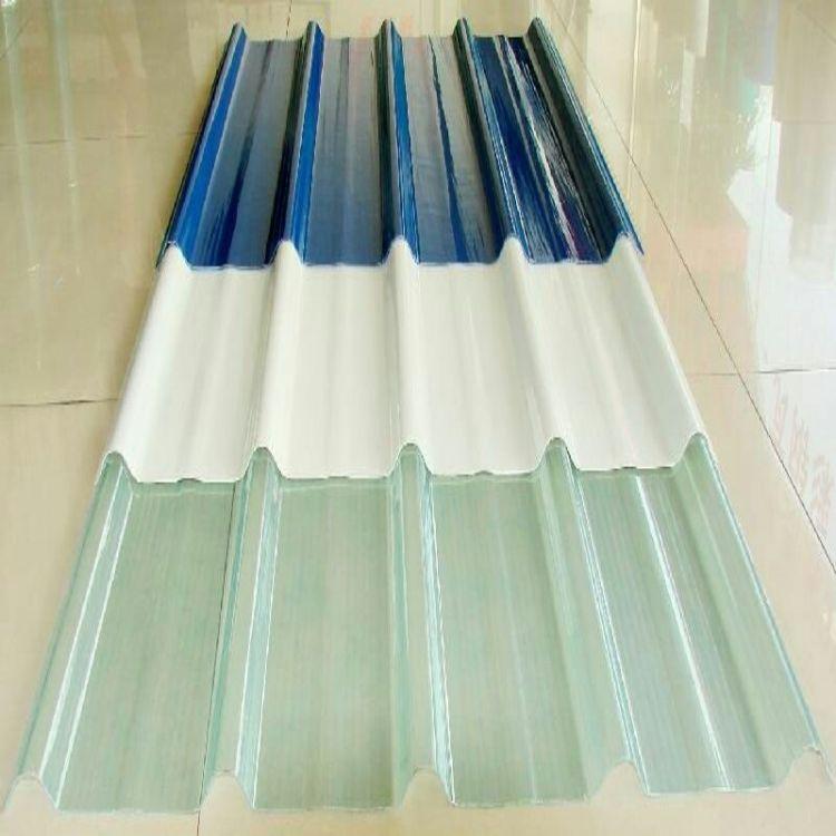 厂家批发 采光瓦采光板 大棚钢结构透明屋顶采光瓦 FRP采光板