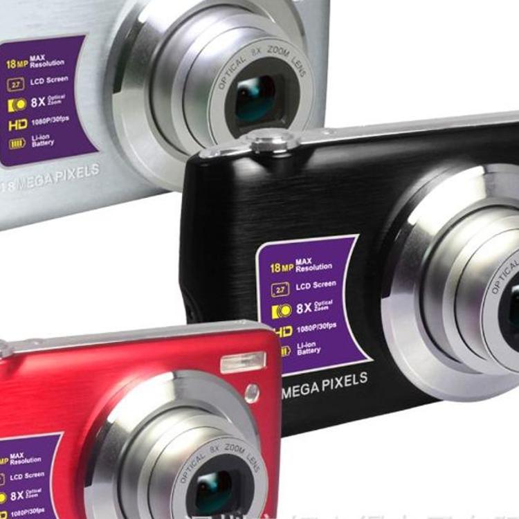 18M 1080P 光变数码相机  卡片光变数码相机  礼品光变数码照相机