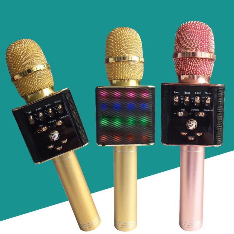 L17Q9858H6H8麦克风通用无线蓝牙话筒家用全民唱歌音响K拉OK