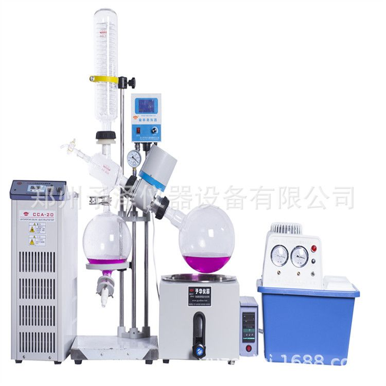 旋转蒸发器YRE型1L2L3L5L蒸发仪浓缩结晶分离溶媒回收
