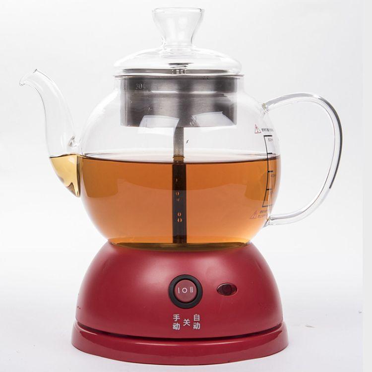 陶佳乐蒸茶器玻璃多功能煮茶器黑茶蒸汽壶会客泡茶蒸馏萃取壶