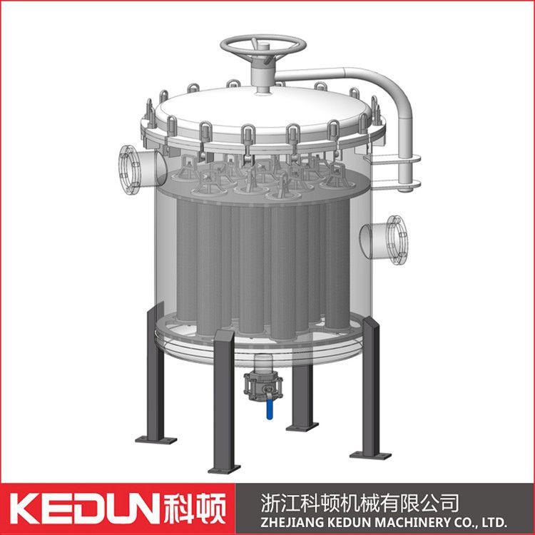 卫生级多袋式过滤器 液体过滤器 糖浆过滤器 大流量过滤器