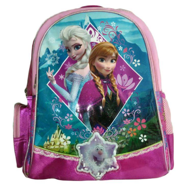 厂家直销支持定制批发卡通可爱儿童减负双肩包大容量女生书包