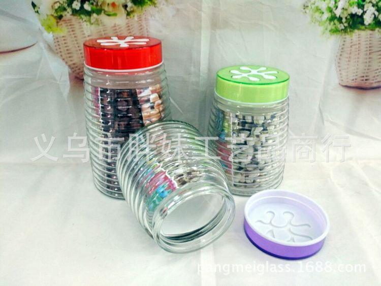 批发透明玻璃密封罐  厂家直销透明玻璃密封罐 供应玻璃密封罐