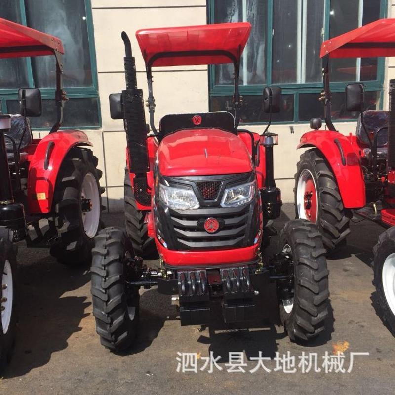 爬山开沟用拖拉机低油耗马力大新型多功能大型四轮四驱拖拉机