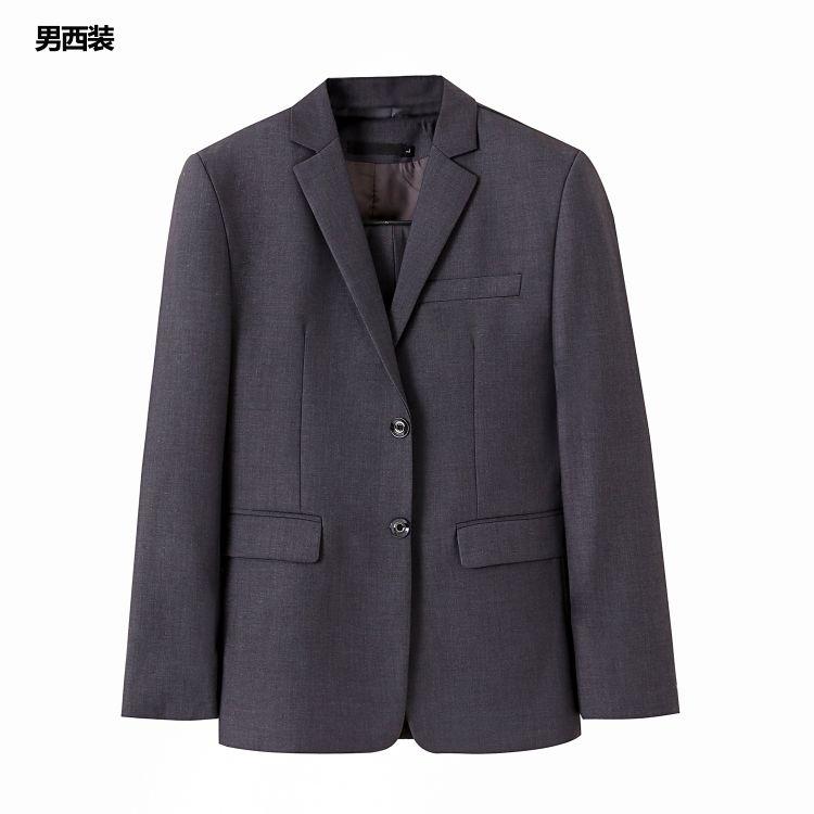 职业装女装男女同款西装两件套套装女西服工作服工装银行面试正装