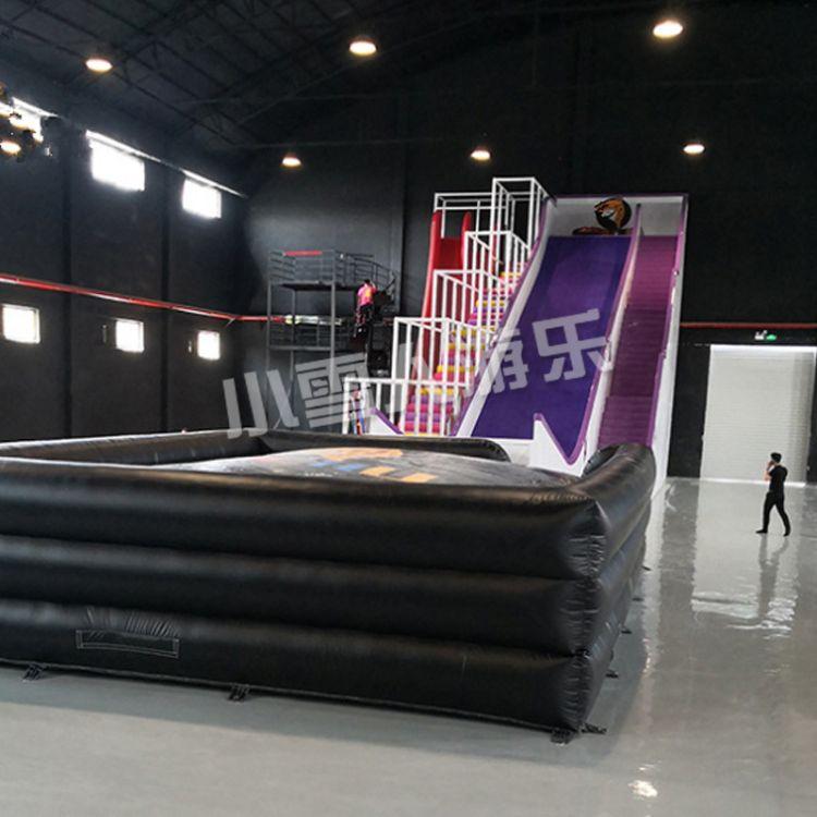 大型组合滑梯 旱雪滑梯 滑雪毯 高层拓展训练设备 弹性迷宫