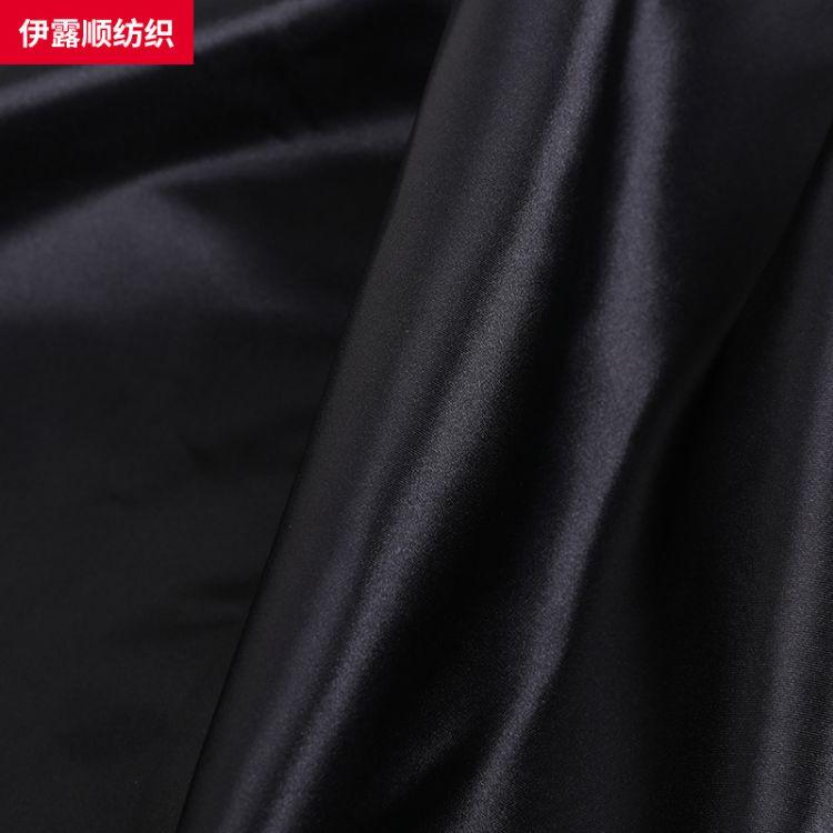 印花色丁布 75D涤纶斜纹加厚色丁布贡缎布料 礼服连衣裙面料批发