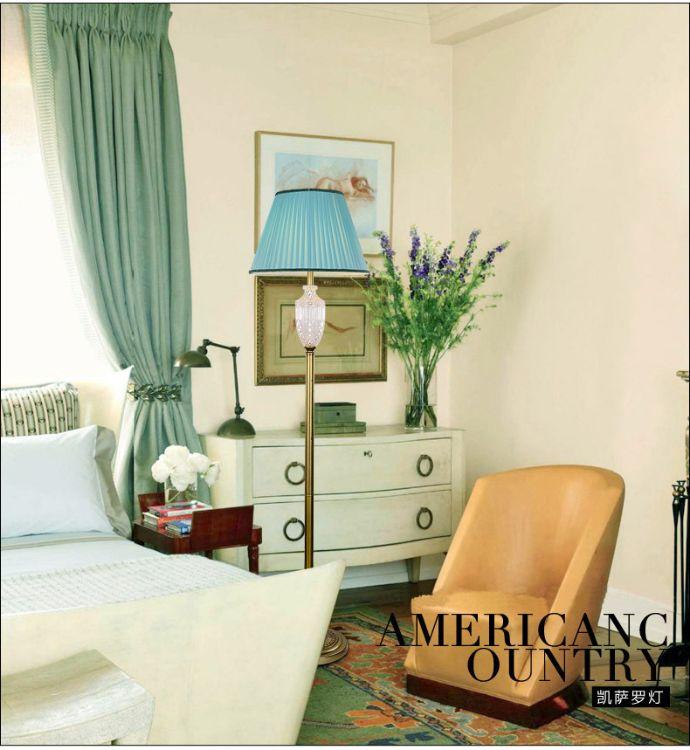 欧式落地灯客厅婚房简约卧室床头灯温馨美式落地台灯礼品灯具批发