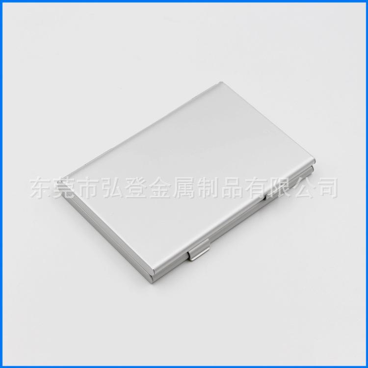 双开SD卡盒双开加厚铝合金卡盒 金属收纳盒SD存储卡储存盒可定制