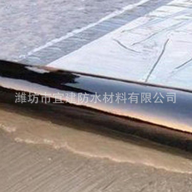 自粘聚合物改性沥青防水卷材 PE面国标1.2mm面火烤自粘防水卷材