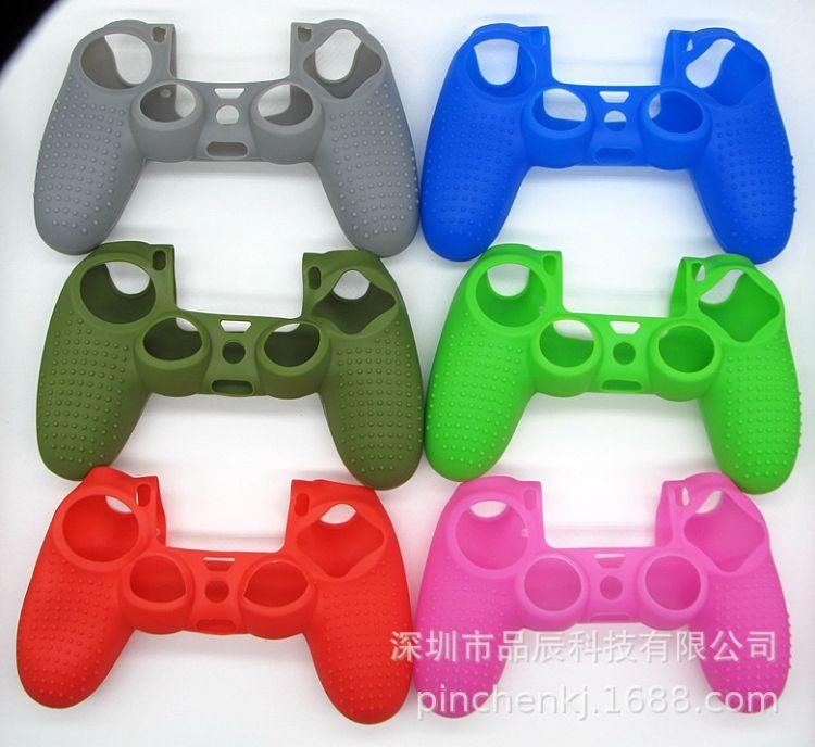 PS4带点硅胶套手柄硅胶套 环保PS4手柄凹凸点保护套 防尘软胶套