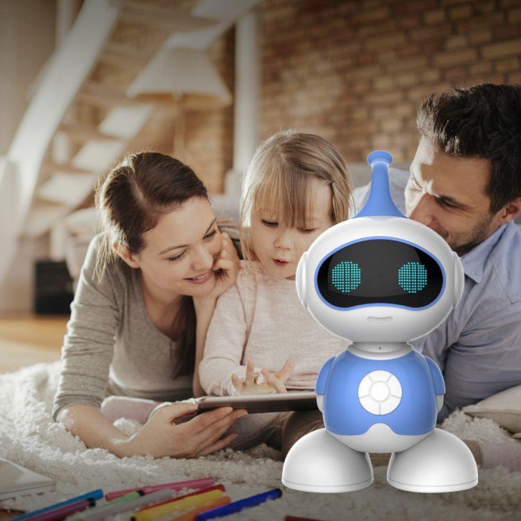 儿童早教机器人儿童智能机器人让儿童教育机器人陪孩子成长。