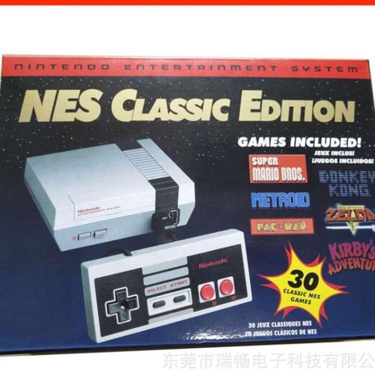 NES电视游戏机 红白机HDMI高清游戏机迷你存储下载30款原版游戏机