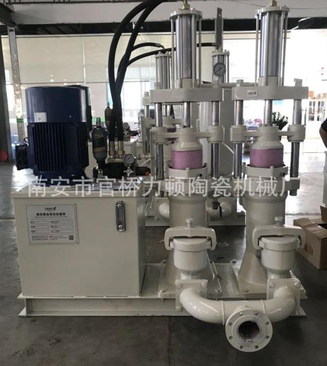 压滤机高压进泥泵泵  压滤机陶瓷柱塞高压泵