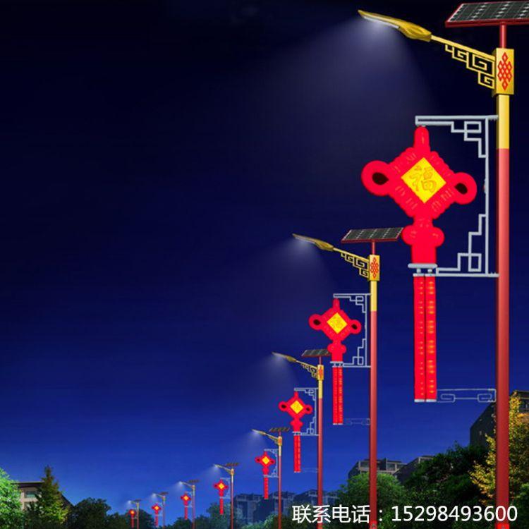 LED太阳能中国结路灯中国结景观灯中国结景观灯LED中国结中国结路