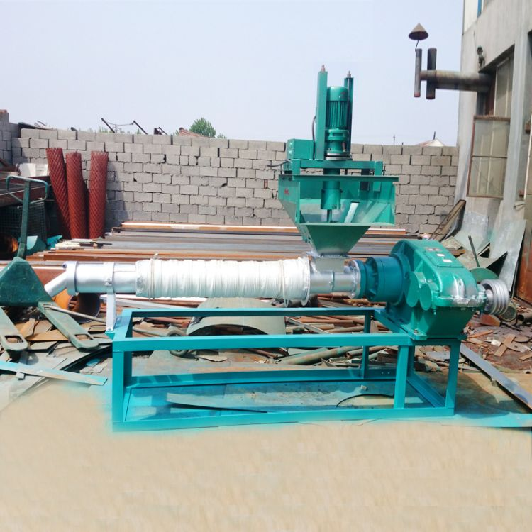 厂家供应125塑料造粒机 150颗粒造粒机 自动废旧塑料造粒机生产线