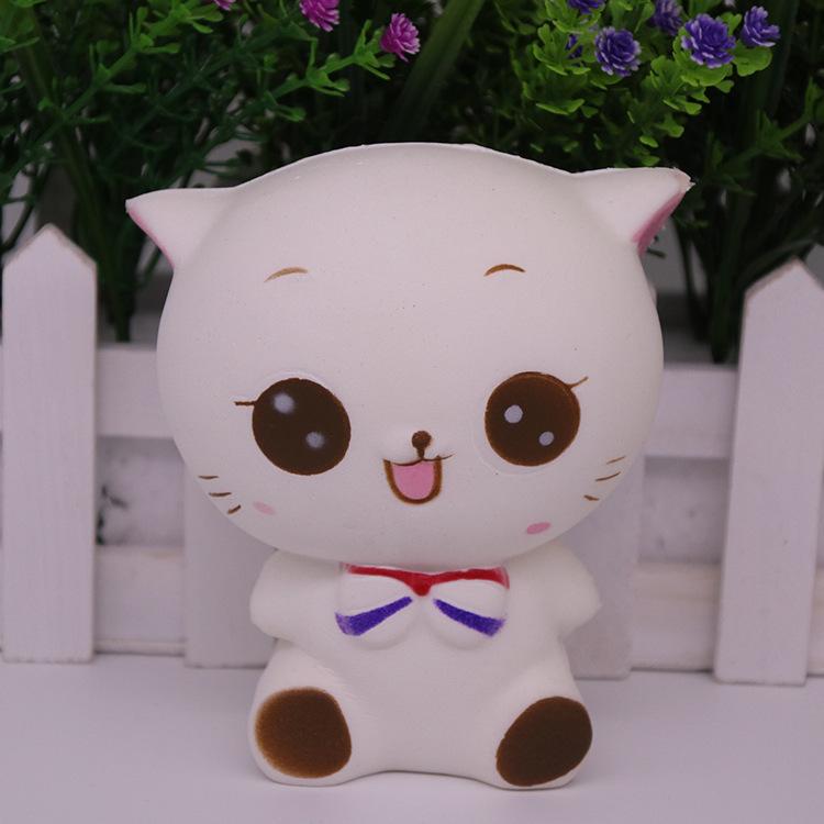 squishy慢回弹玩具PU玩具成人减压玩具squishy 猫玩具树脂工艺