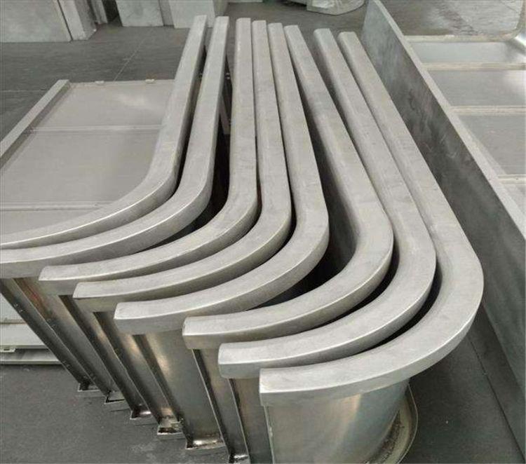 雕刻波浪形铝板 弧形铝单板 双曲铝单板厂家