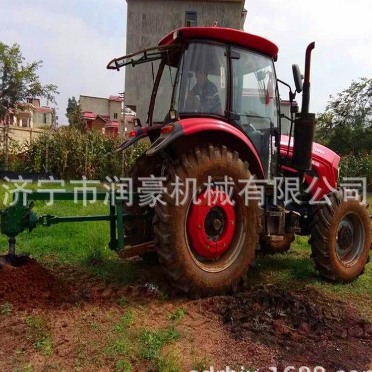 车载式拖拉机挖坑机  新款树苗移栽打坑机  大功率柱桩打眼机