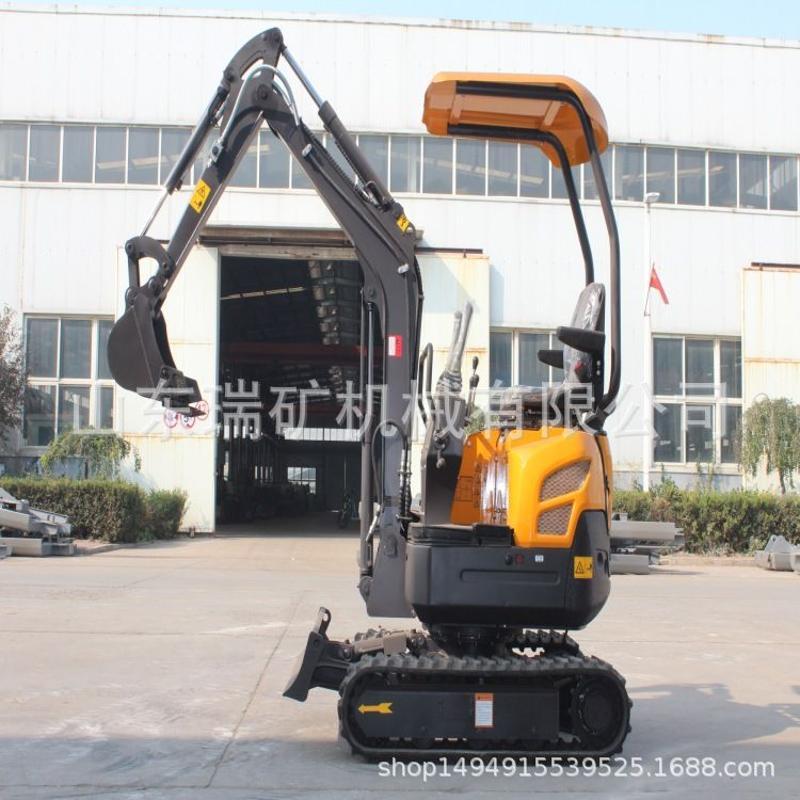农用小型挖掘机 0型果园履带挖掘机 清渣挖石挖掘机挖沟机履带式