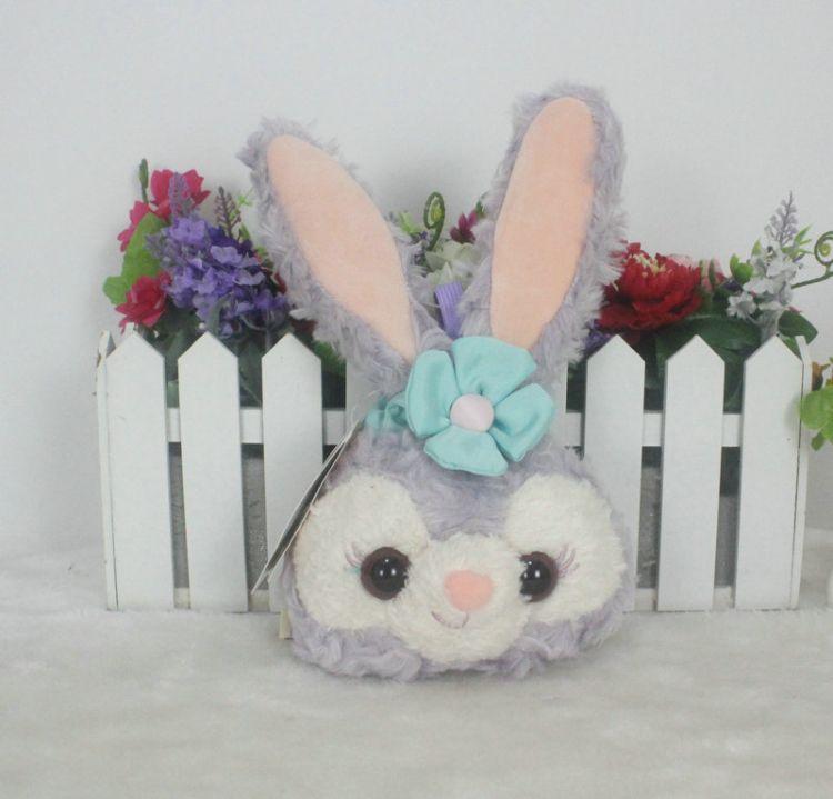 Duffy达菲熊朋友stellalou兔子儿童包芭蕾兔子长耳朵史黛拉兔包毛