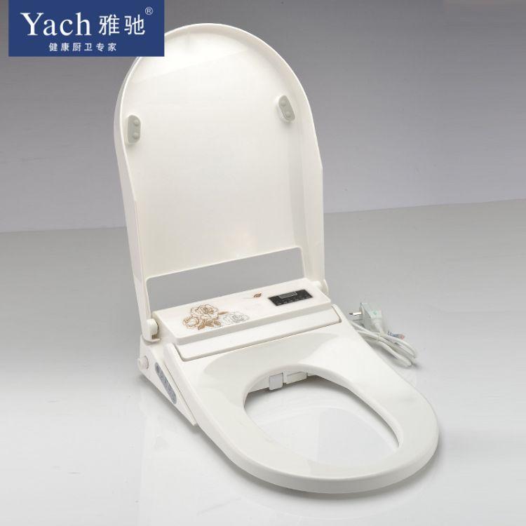 智能马桶盖电动坐便器盖板家用全自动加热冲洗净身器