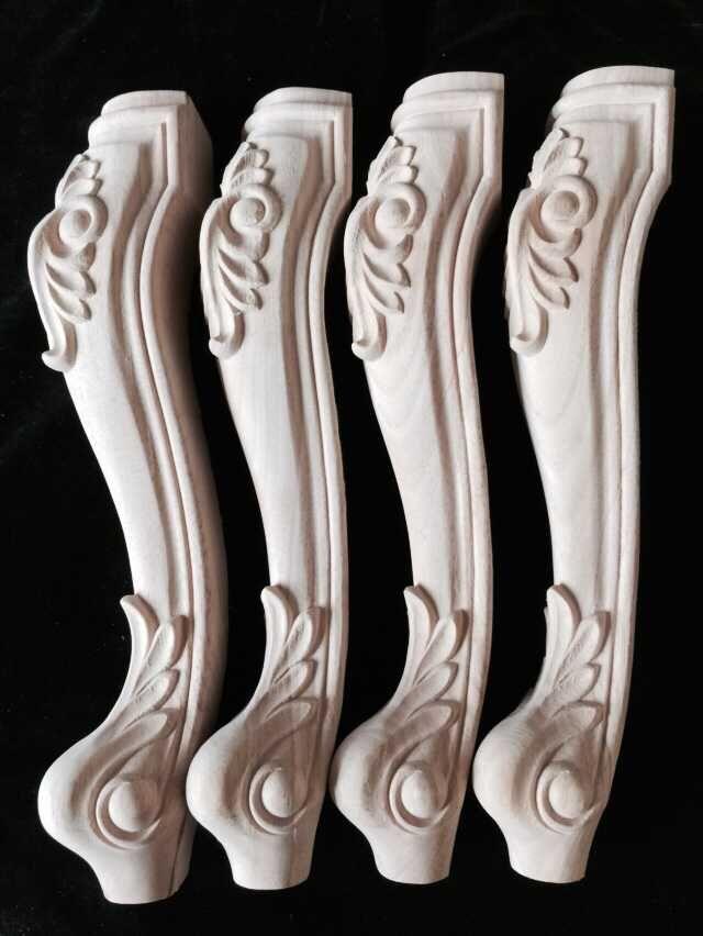 批发供应东阳实木家具脚 茶几脚 餐椅腿 木雕家具脚配件