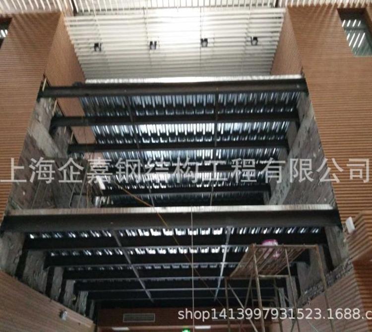 上海钢结构公司 加工定制 钢结构厂房 钢结构夹层 钢结构平台