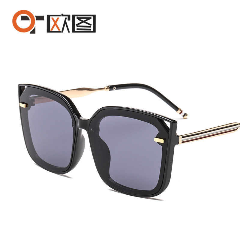 TB太阳镜 平面彩色海洋墨镜男女同款 潮流时尚厂家批发2772