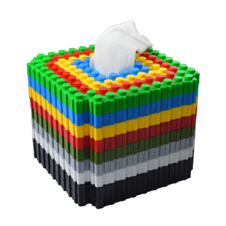 晨风玩具早教桌面益智积木创意拼插立体拼图塑料积木启蒙玩具