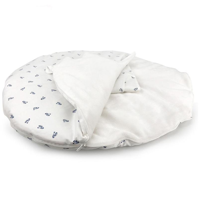2018新款婴儿睡袋秋冬加厚全棉儿童新生儿宝宝纯棉抱被批发