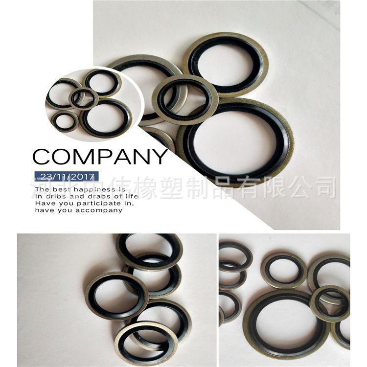 厂家供应组合垫圈 氟胶组合垫 硅胶组合垫密封圈公制英制