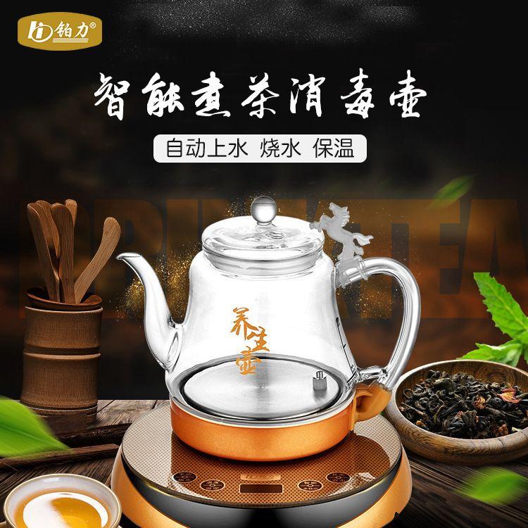 批发电煮咖啡壶 玻璃 D09D铂利电热水壶 正品玻璃电热水壶
