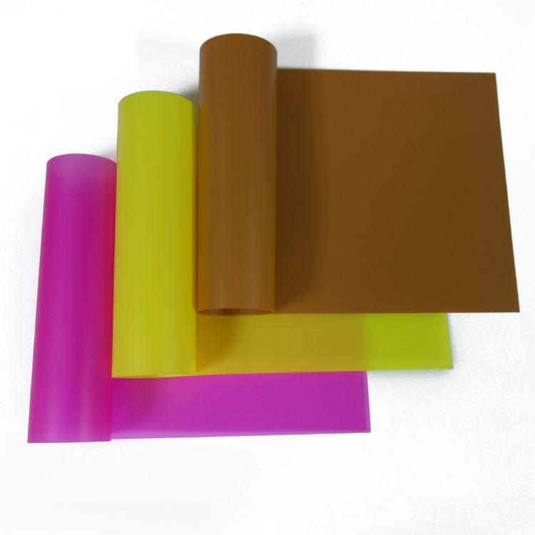 厂家供应鑫泰彩色PVC透明塑料片 pvc波音软片 pp镜面片材定制