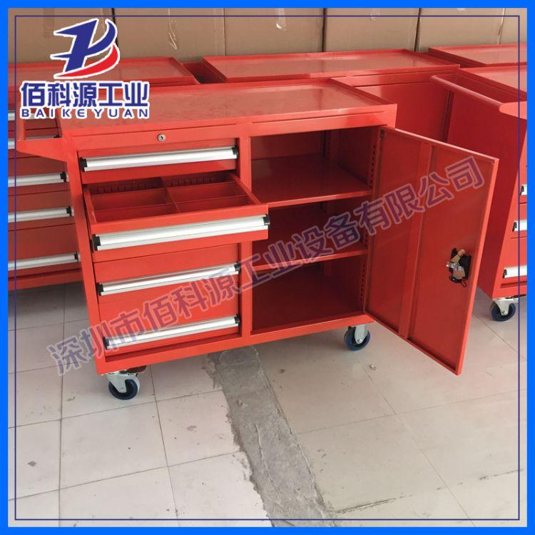 工具柜工具车移动抽屉式工具柜定制车间组合重型五金工具车工具柜