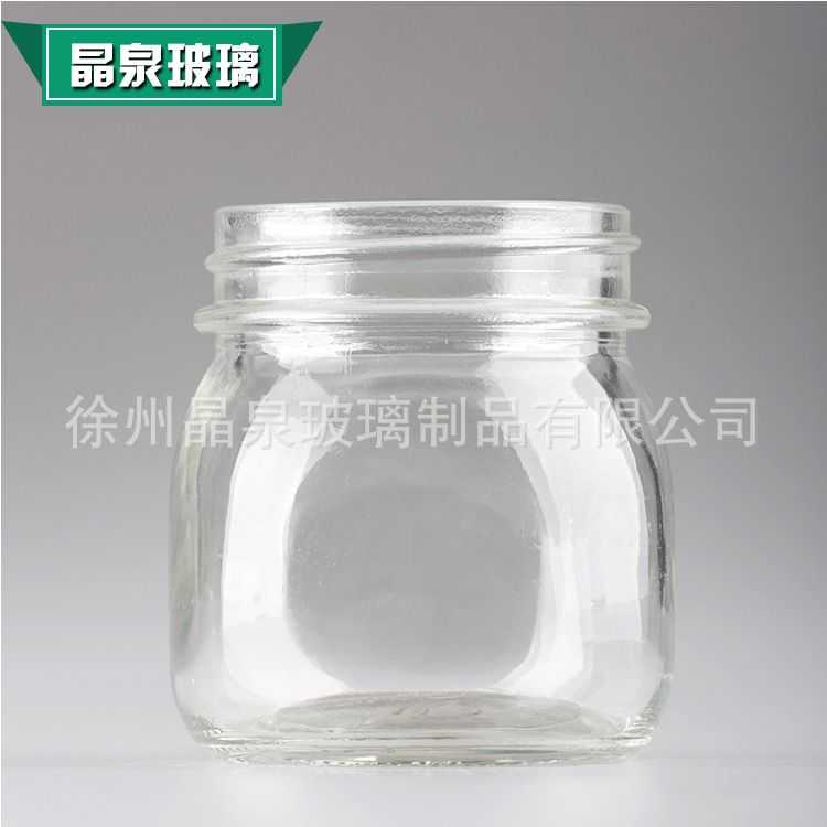 毫升玻璃梅森杯 梅森瓶 玻璃蜂蜜瓶水果酱瓶 蔬菜沙拉酱玻璃瓶