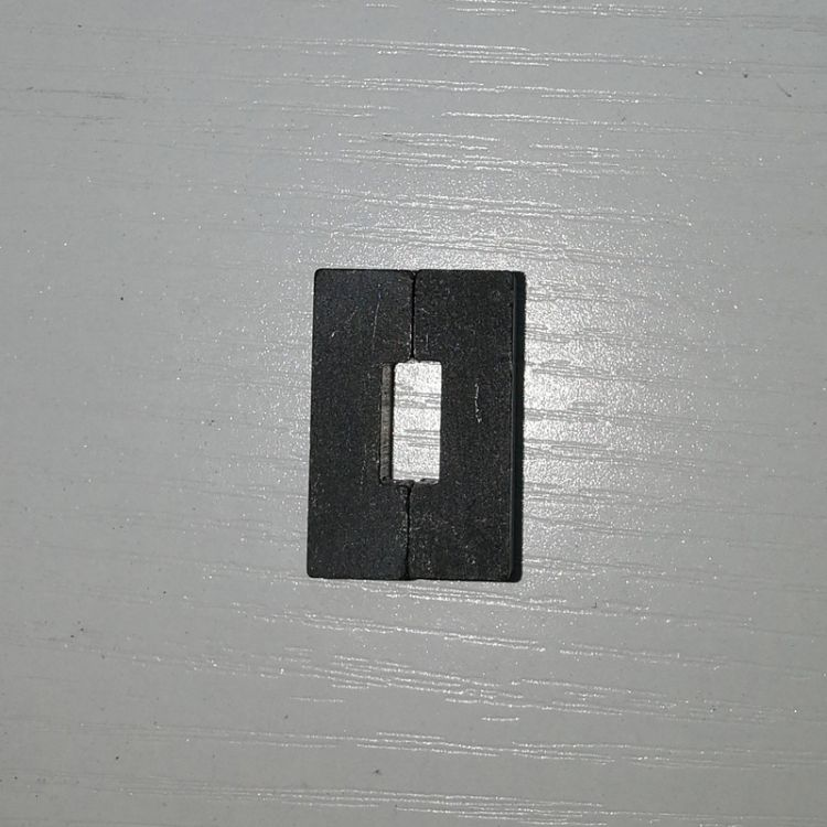 厂家直销定做铁氧体永磁  天平秤阻尼磁铁 黑磁铁