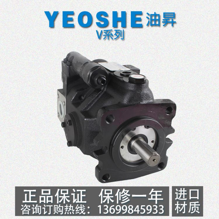 台湾YEOSHE V15/V23/V18/V25/V38/V42A1R/A2R/A3R10X油�N柱塞泵