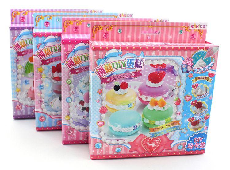 亿奇创意DIY奶油蛋糕玩具 创意仿真奶油蛋糕 新款蛋糕套装N-DGB