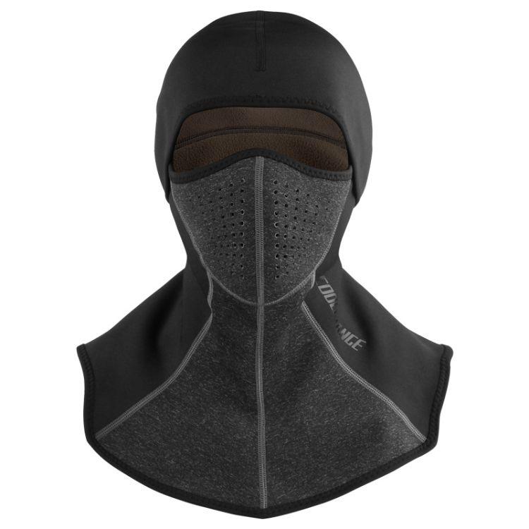 骑行头套保暖防风面罩全脸户外滑雪防寒防雾霾口罩摩托车男女秋冬