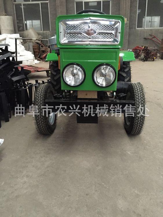 大棚王微型拖拉机 农用四轮拖拉机旋耕机