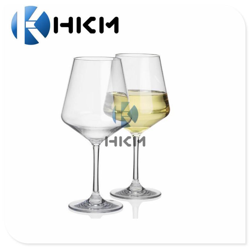 塑料吹塑红酒杯-高脚杯-大容量葡萄酒杯- 仿玻璃透明大肚酒杯