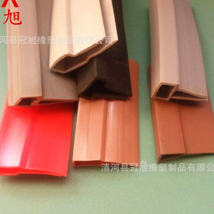 供应磁门帘边条 无钙粉门帘封密封条 多种颜色可选